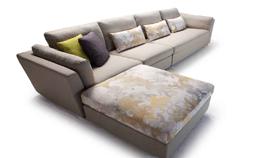 sofa nỉ nhập khẩu 8022