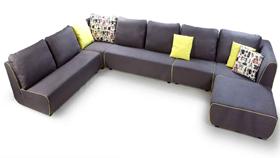 Sofa nỉ nhập khẩu 8026