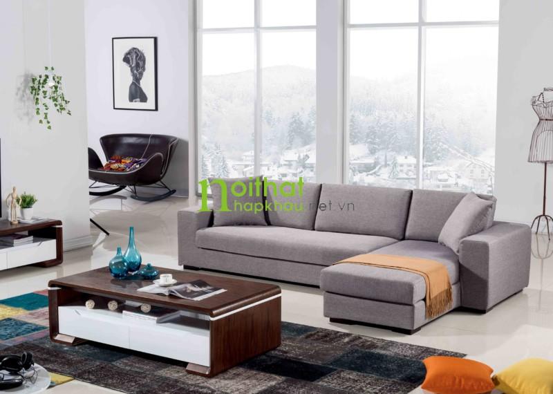 sofa vải phong cách Bắc Âu -LS-FS06