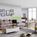 sofa vải phong cách bắc âu LS-FS905