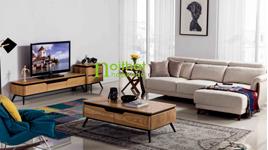 Sofa vải phong cách Bắc Âu LS-FS03