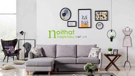 Sofa vải phong cách Bắc Âu LS-FS09