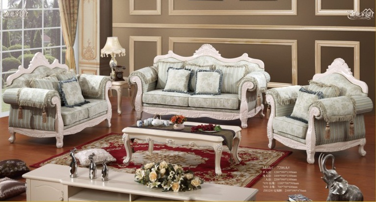 Sofa tân cổ điển 7206A