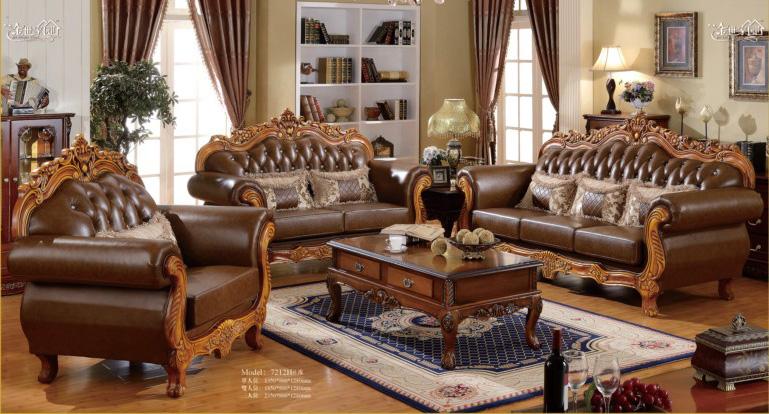Phòng khách sang trọng, quý phái với mẫu ghế sofa cổ điển