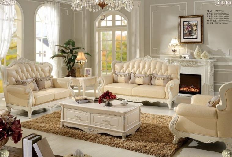 Sofa tân cổ điển 7277D