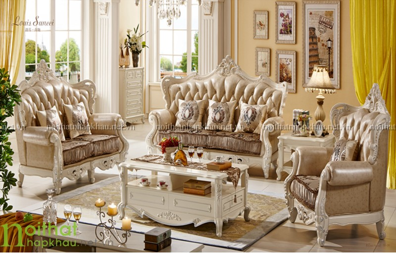Sofa cổ điển cao cấp TM 818