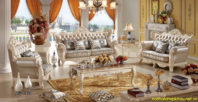 Sofa cổ điển TM208A