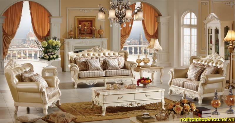 Sofa cổ điển TM218D
