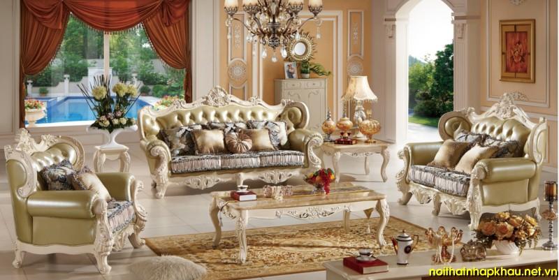 sofa cổ điển TM232A