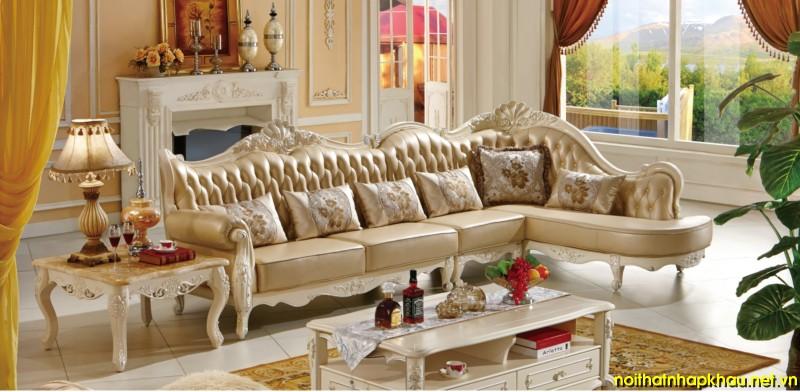 Top 3 mẫu sofa cổ điển Châu Âu được yêu thích nhất 2016