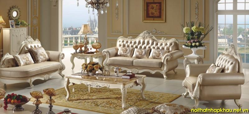 Sofa cổ điển TM252B