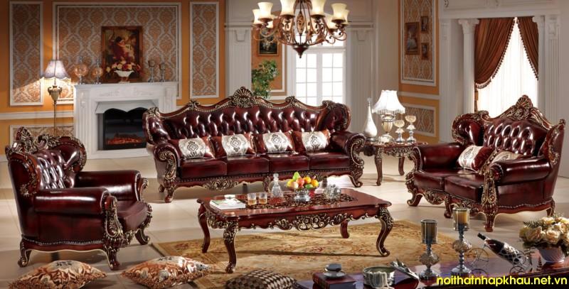 Sofa cổ điển TMS232