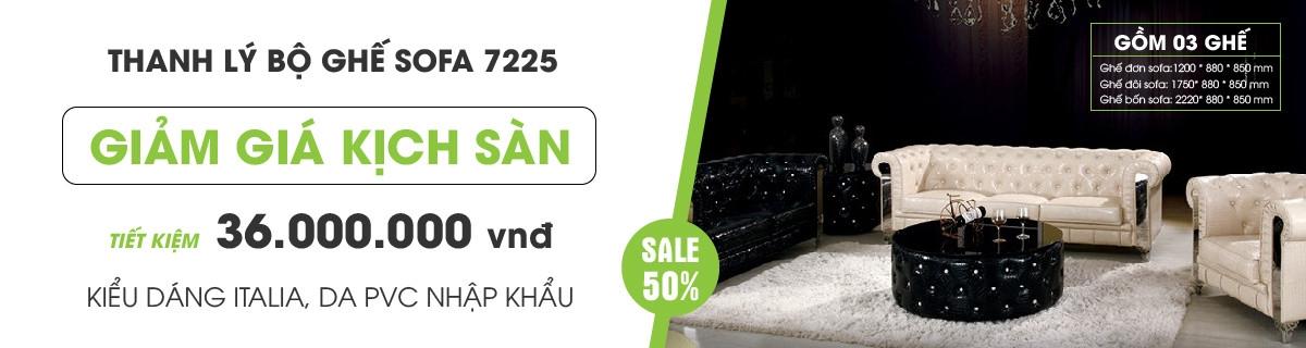 Sofa thanh lý 123