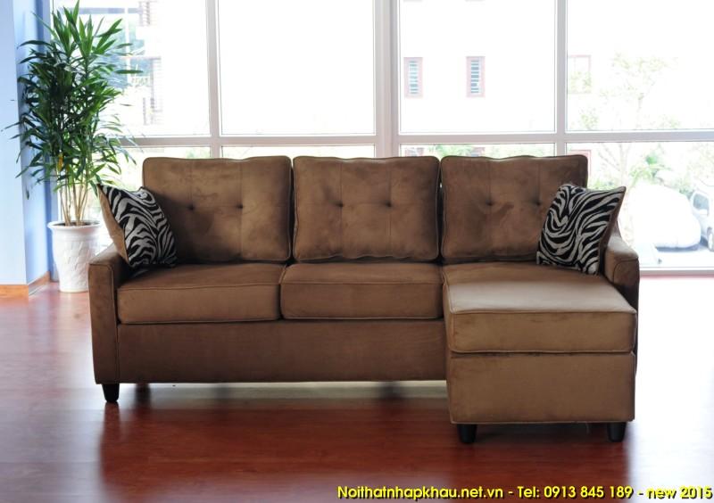 Sofa xuất khẩu 1425-brown