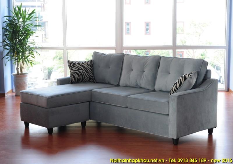 Sofa xuất khẩu 1425-màu ghi