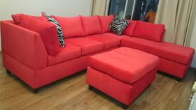 Sofa xuất khẩu 9909 đỏ