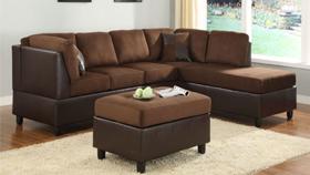 Sofa xuất khẩu 9909-socola
