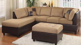 Sofa xuất khẩu -9909  brown