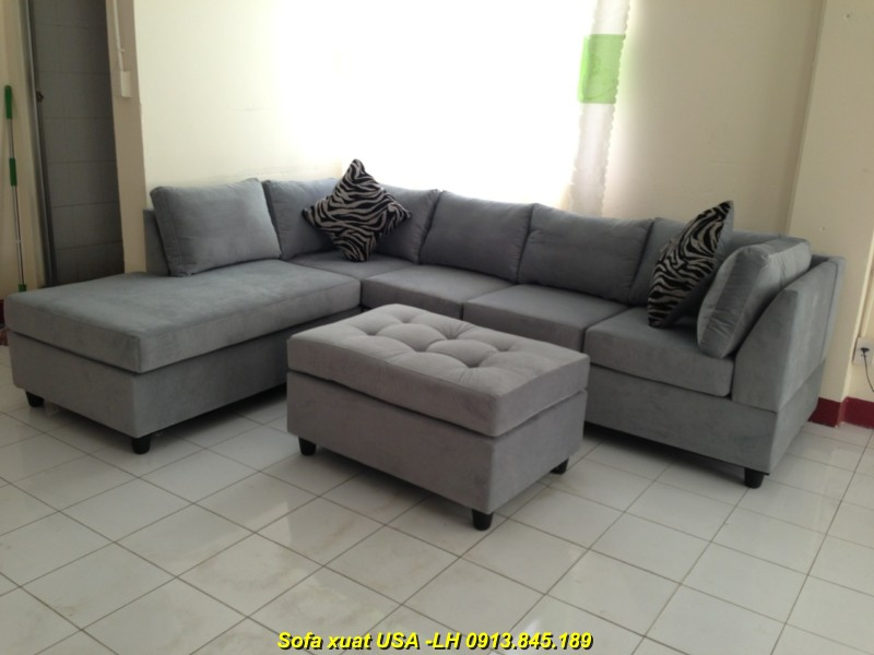 sofa xuất khẩu 9909-ghi