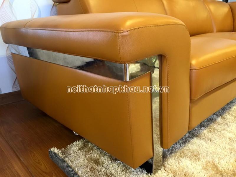 Tay sofa da thật EJ5-705