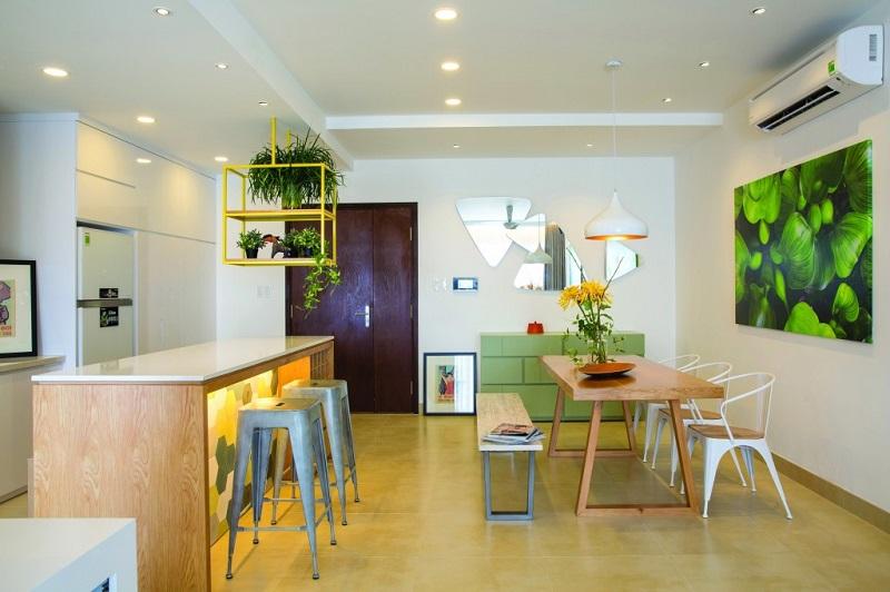 Không gian phòng bếp hiện đại tinh tế
