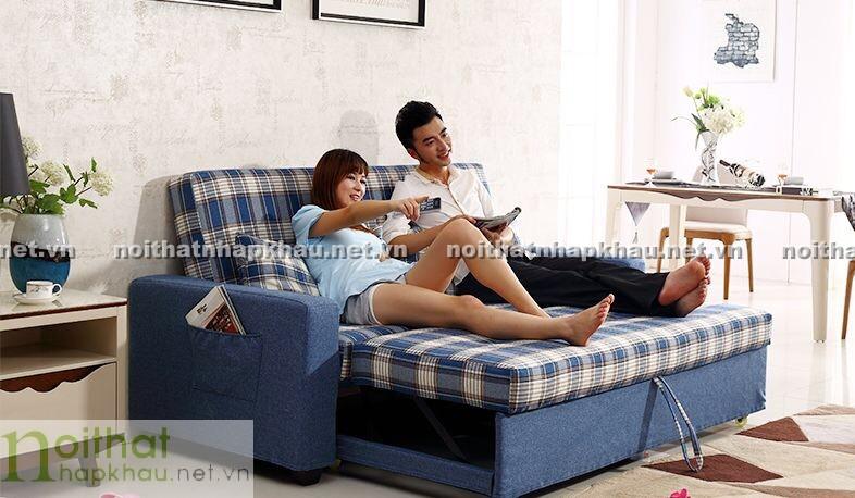 Sofa giường hiện đại sẽ không làm bạn thất vọng khi sử dụng
