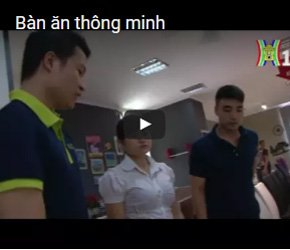 Bàn ăn thông minh trên kênh THHN1